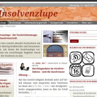 Insolvenzlupe